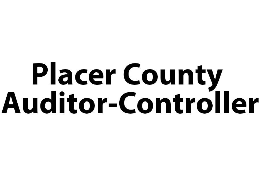 Placer County Auditor Controller
