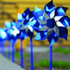 The pinwheel is the national symbol of child abuse prevention.