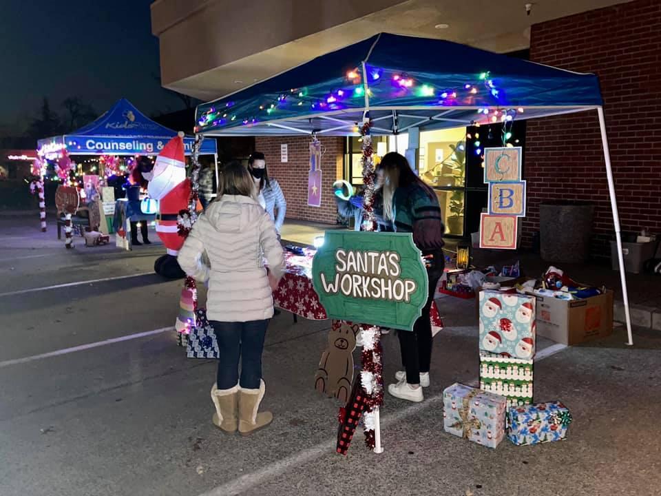 Santa Parties Booths
